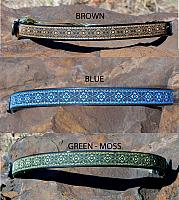 Celtic Knot - Blue, Green, Brown