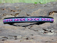 Purple and Turquoise Aztec Native Southwestern
